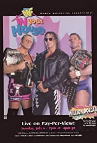 Bret Hart, Owen Hart, and Davey Boy Smith in WWF in Your House 16: Canadian Stampede (1997)