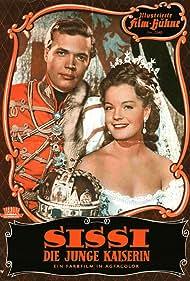 Romy Schneider and Karlheinz Böhm in Sissi - Die junge Kaiserin (1956)
