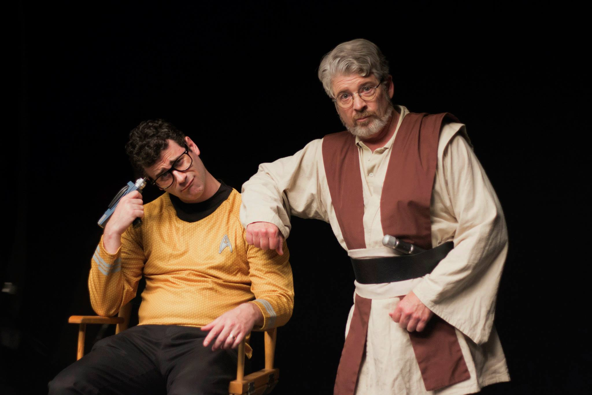 Johnny Bolton and Ronan Barbour in Star Trek Wars (2015)