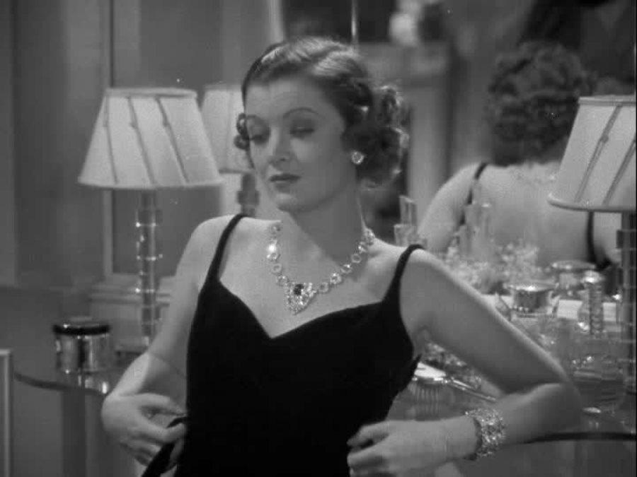 Myrna Loy in Wife vs. Secretary (1936)