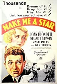 Make Me a Star (1932) Poster - Movie Forum, Cast, Reviews