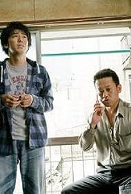 Yûji Ayabe and Daisuke Miyagawa in Manzai gyangu (2011)