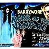 Lionel Barrymore, Elizabeth Allan, and Carroll Borland in Mark of the Vampire (1935)
