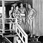 Bill Cord, Don Durant, Jeanne Gerson, and Lisa Montell in She Gods of Shark Reef (1958)