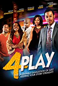 Paula Jai Parker, Angell Conwell, Thomas Mikal Ford, Wesley Jonathan, and Jaleel White in 4Play (2014)
