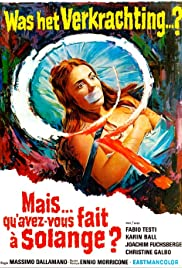 What Have You Done to Solange?(1972) Poster - Movie Forum, Cast, Reviews