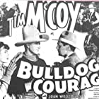 Tim McCoy, Eddie Buzard, Edmund Cobb, Jack Rockwell, and Joan Woodbury in Bulldog Courage (1935)