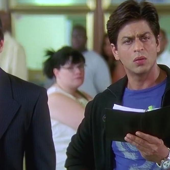 Saif Ali Khan and Shah Rukh Khan in Kal Ho Naa Ho (2003)