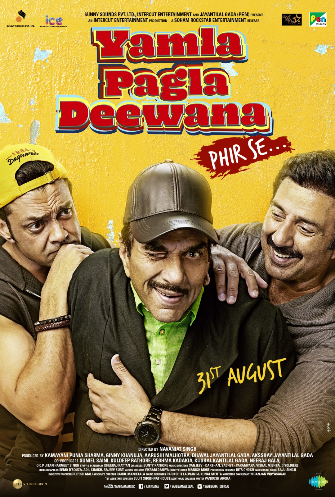 Yamla Pagla Deewana Phir Se (2018) Hindi HDTV-Rip – 480P | 720P – x264 – 400MB | 1GB – Download