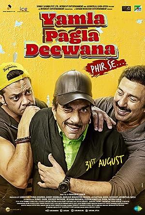 Yamla Pagla Deewana Phir Se Poster