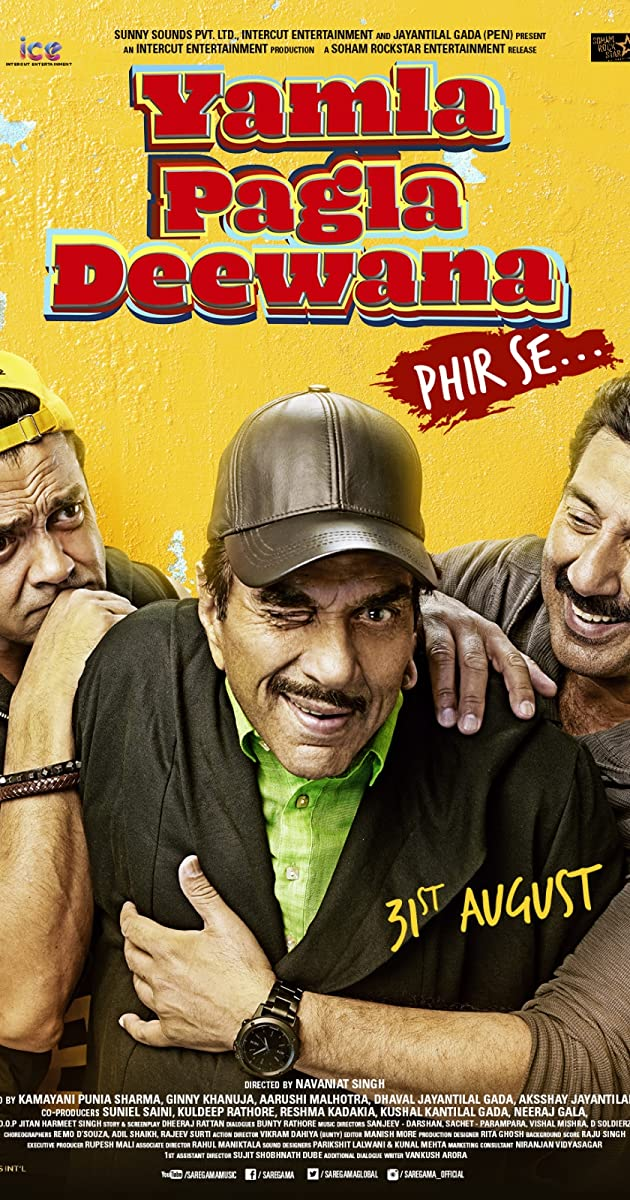 Yamla Pagla Deewana 2 2012 hindi full movie free download