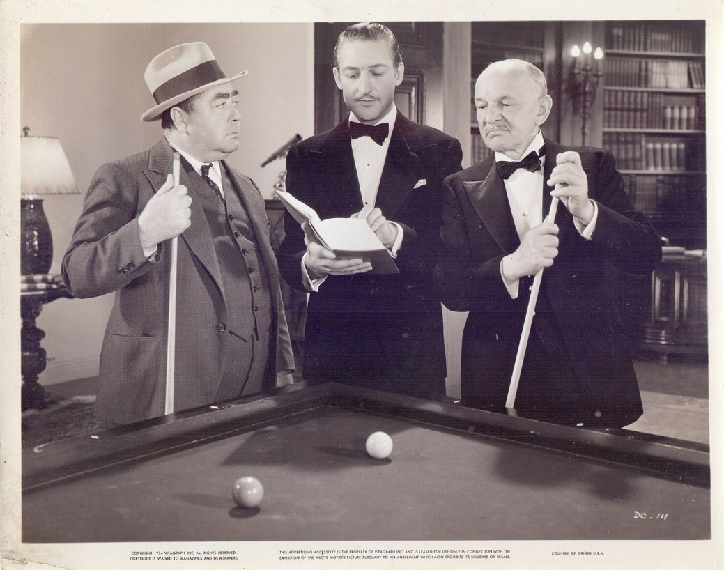 Robert McWade, Eugene Pallette, and Warren William in The Dragon Murder Case (1934)