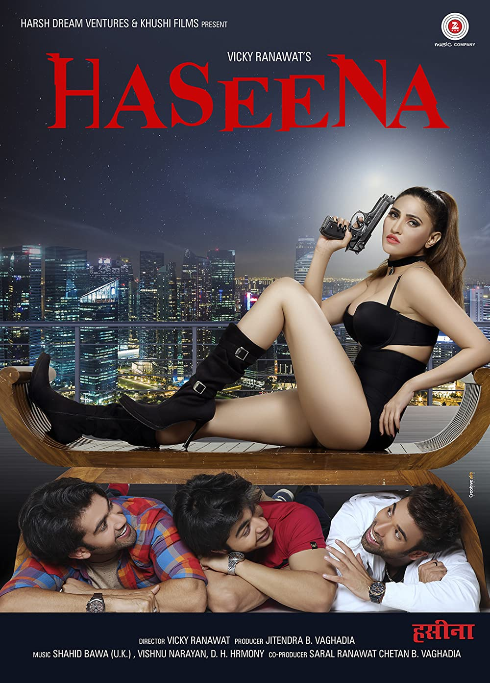 18+ Haseena 2018 Hindi 720p HDRip x264 750MB
