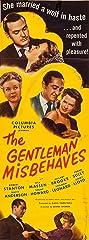The Gentleman Misbehaves (1946) Poster