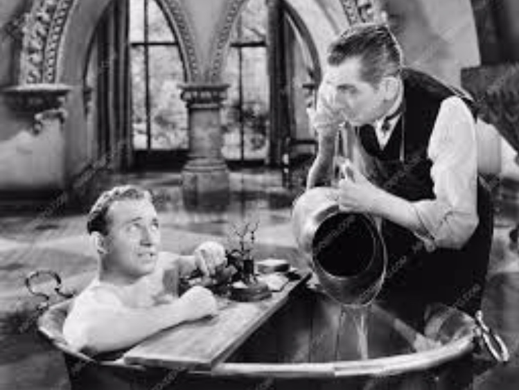 Bing Crosby and Edward Everett Horton in Paris Honeymoon (1939)