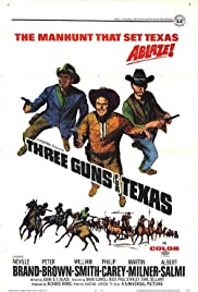 Three Guns for Texas Poster