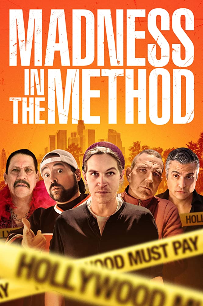 Danny Trejo, Kevin Smith, Vinnie Jones, Jaime Camil, and Jason Mewes in Madness in the Method (2019)