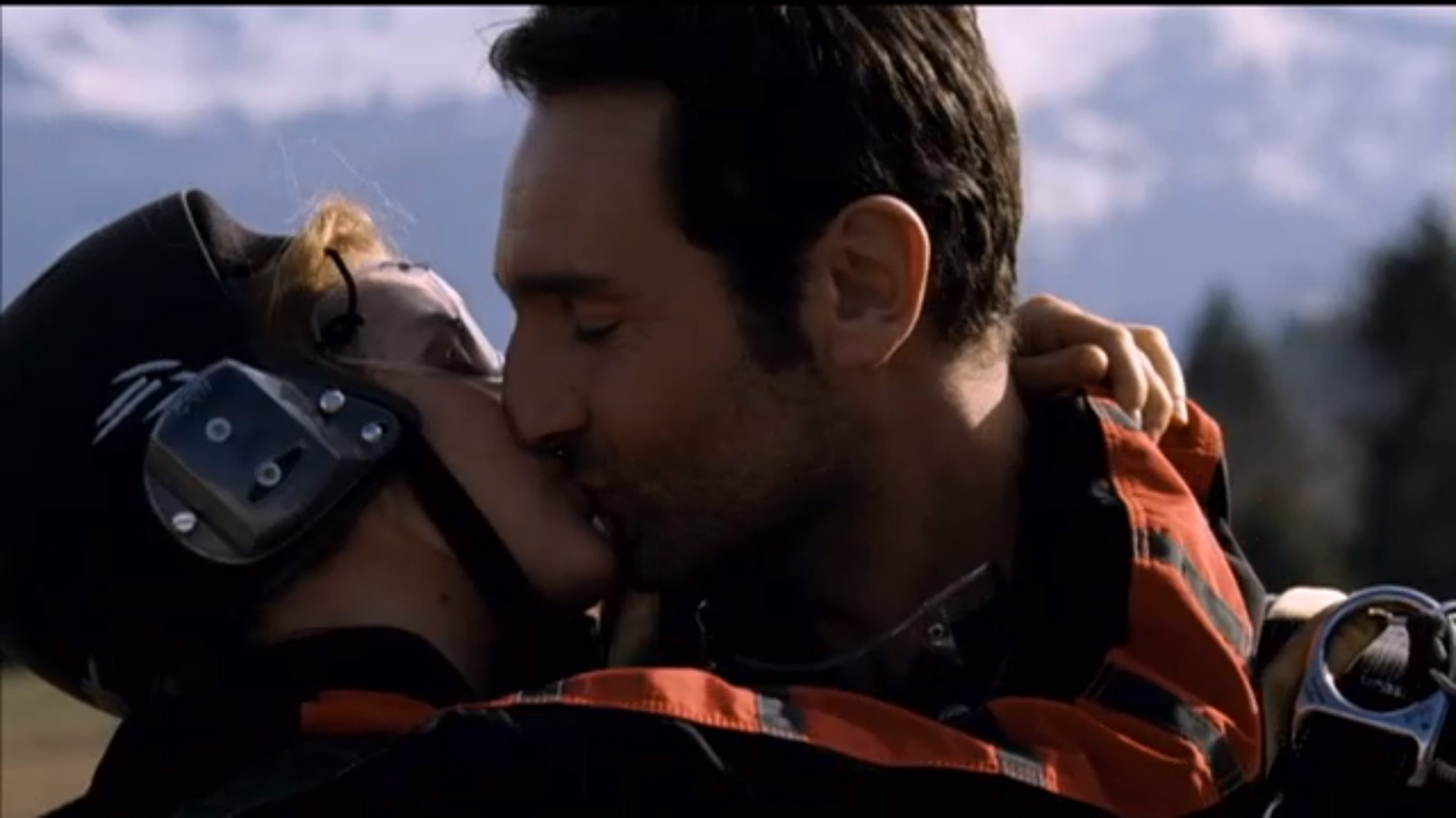 Vahina Giocante and Gilles Lellouche in Krach (2010)