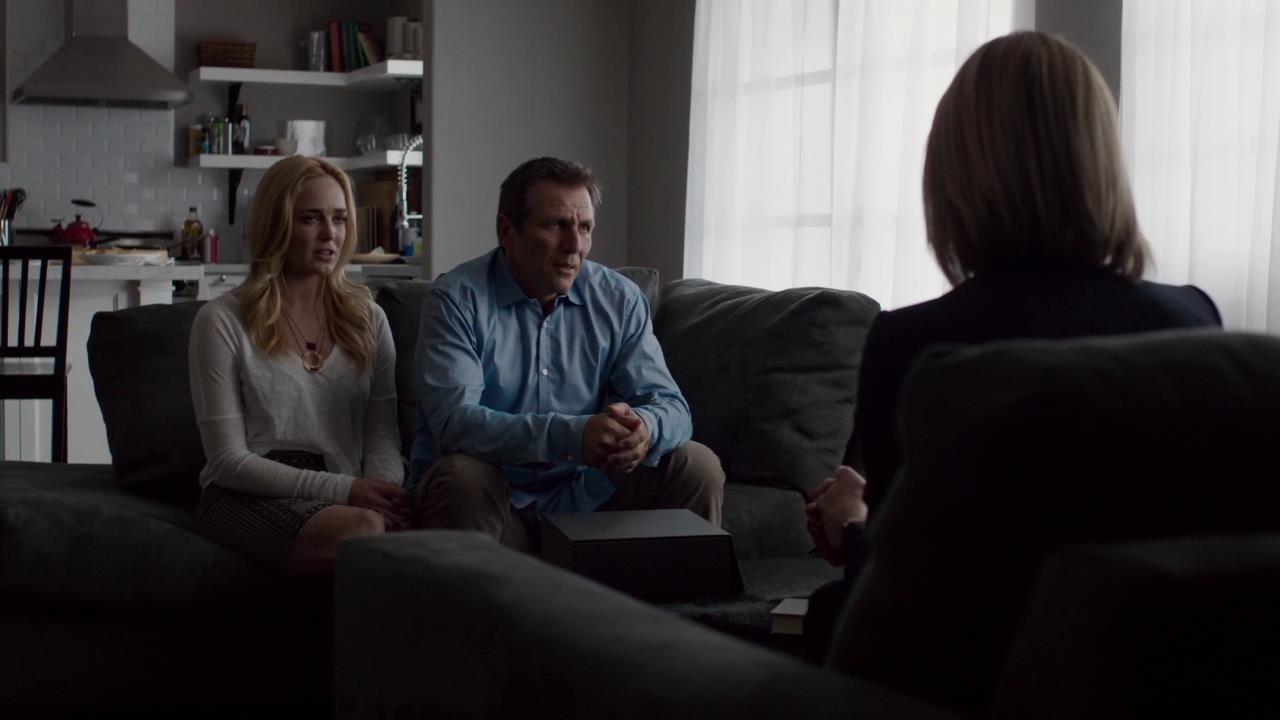 Alex Carter, Mariana Klaveno, and Caity Lotz in Stalker (2014)