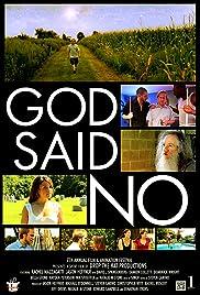 God Said No Poster