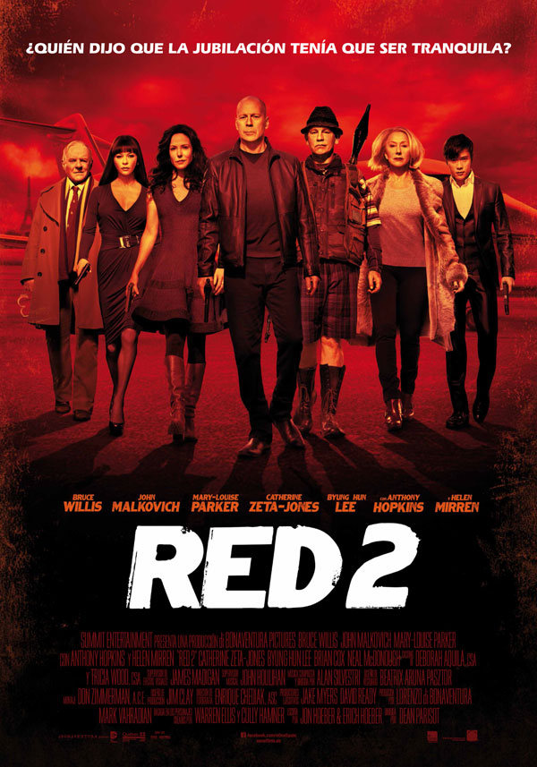RED 2 (2013) – [Hindi + English] – 720p | 480p BluRay x264 AAC 1GB | 400MB