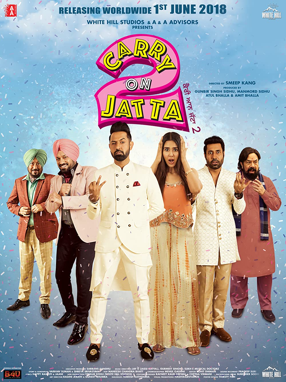 Carry On Balle Balle (Carry On Jatta 2) 2020 Hindi Dubbed 400MB HDRip Download