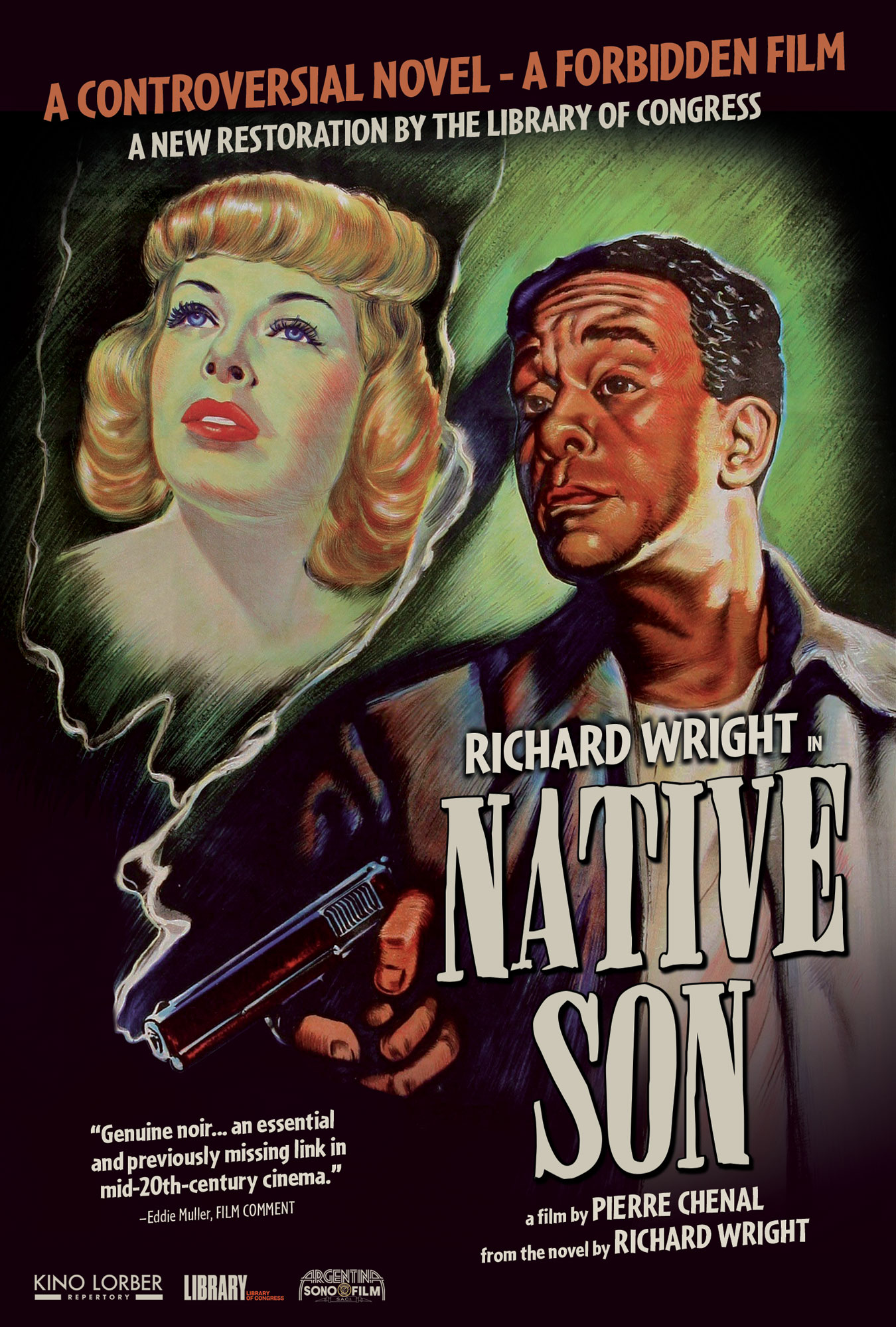 Jean Wallace and Richard Wright in Native Son (1951)