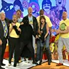 Sally James, Bob Carolgees, Frank Carson, John Gorman, Lenny Henry, Sylvester McCoy, Chris Tarrant, and Benjamin Mills in Tiswas Reunited (2007)