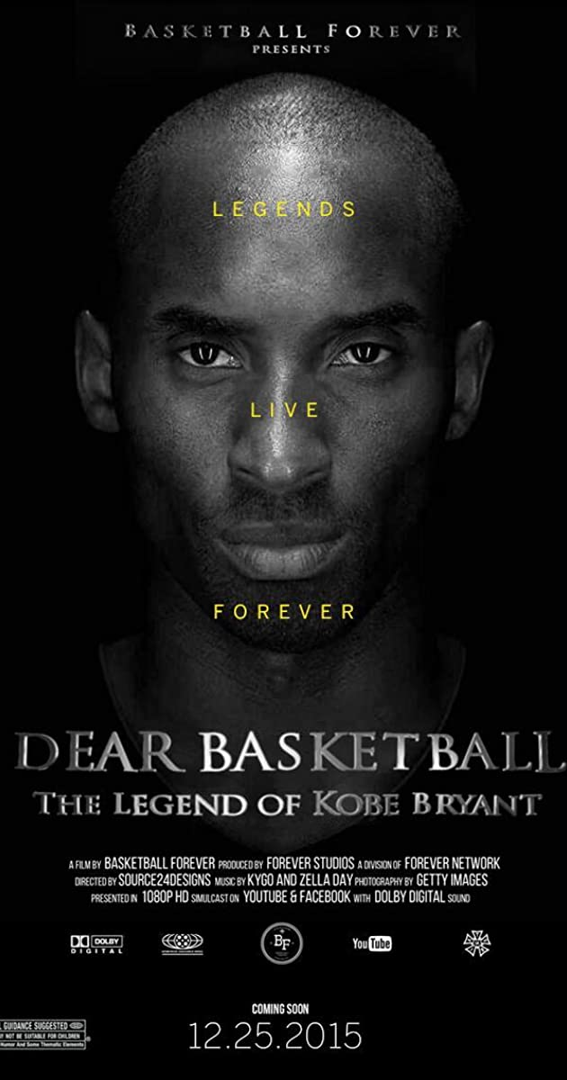 dear basketball  the legend of kobe bryant  video 2015