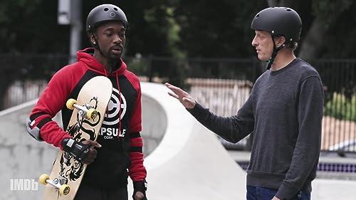 """Tony Hawk Teaches Jay Pharoah to Skate in """"Special Skills"""" video"""