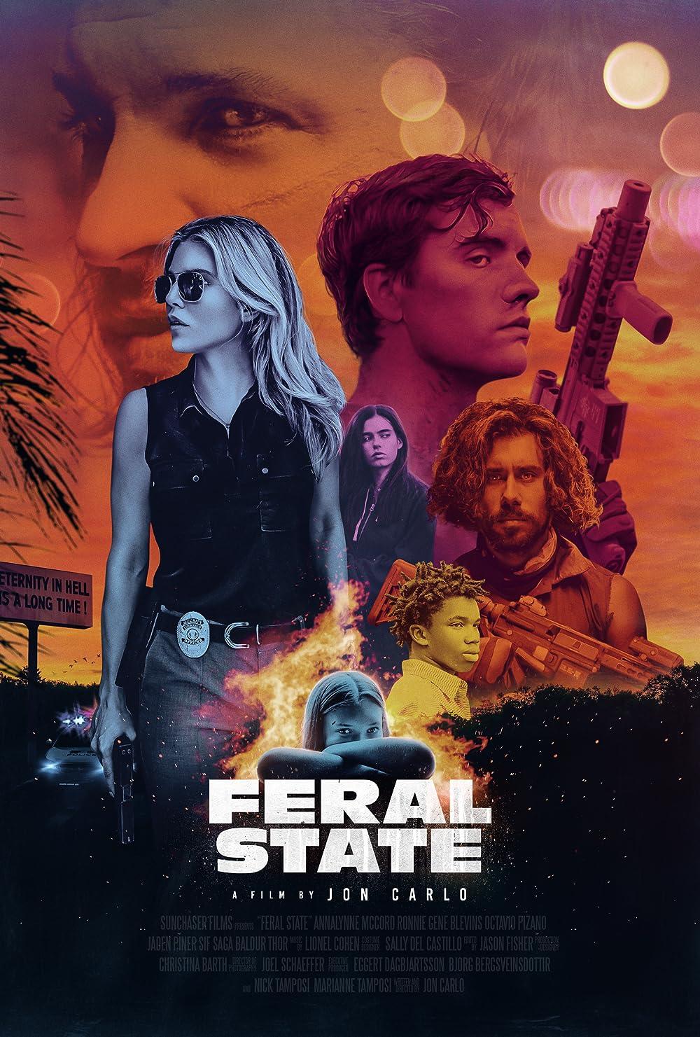 Feral State 2021 English 720p HDRip 800MB Download