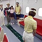 Tsutomu Sekine, Jun Shison, Ai Moritaka, Ryûsei Yokohama, Jin Hiramaki, and Riria Baba in Ressha Sentai Tokkyûjâ (2014)