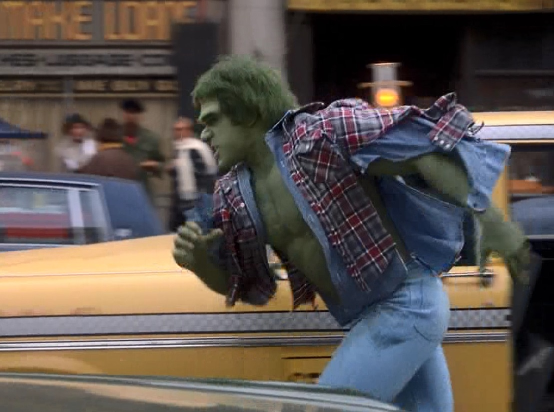 Lou Ferrigno in The Incredible Hulk (1978)