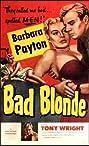 Bad Blonde (1953) Poster