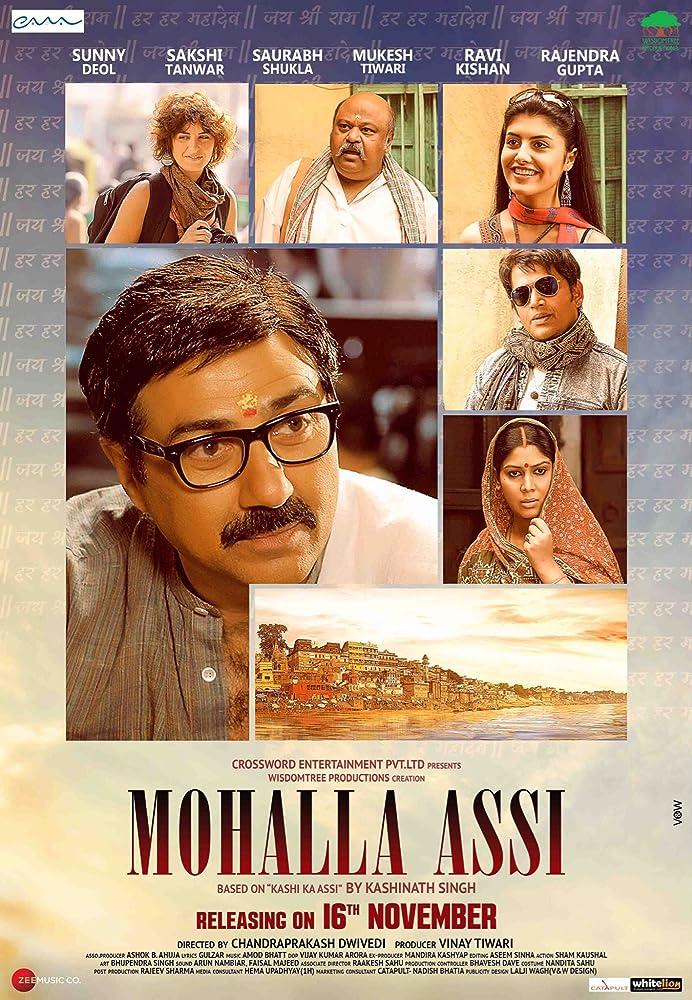 Mohalla Assi (2018) Hindi – Proper – HDRip – x264 – 700MB – Mp3 – ESub || WatchOnline || Download