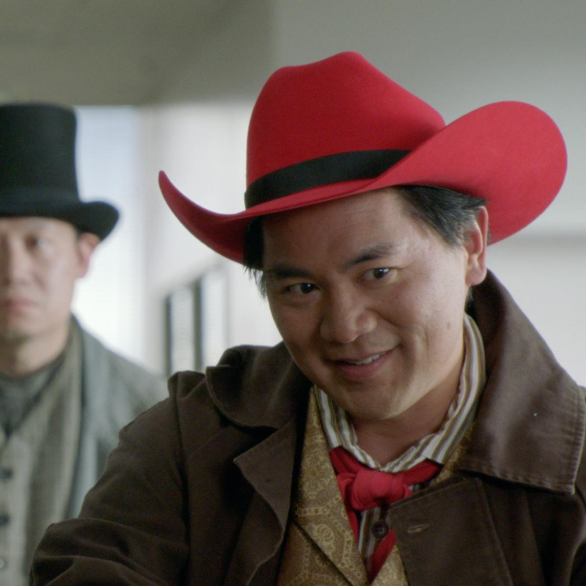 "Keisuke Hoashi in ""THE DETOUR"" as ""Red Hat Sonoda"""