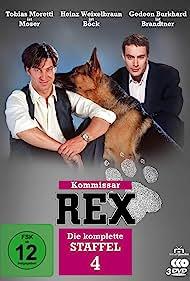 Gedeon Burkhard and Tobias Moretti in Kommissar Rex (1994)