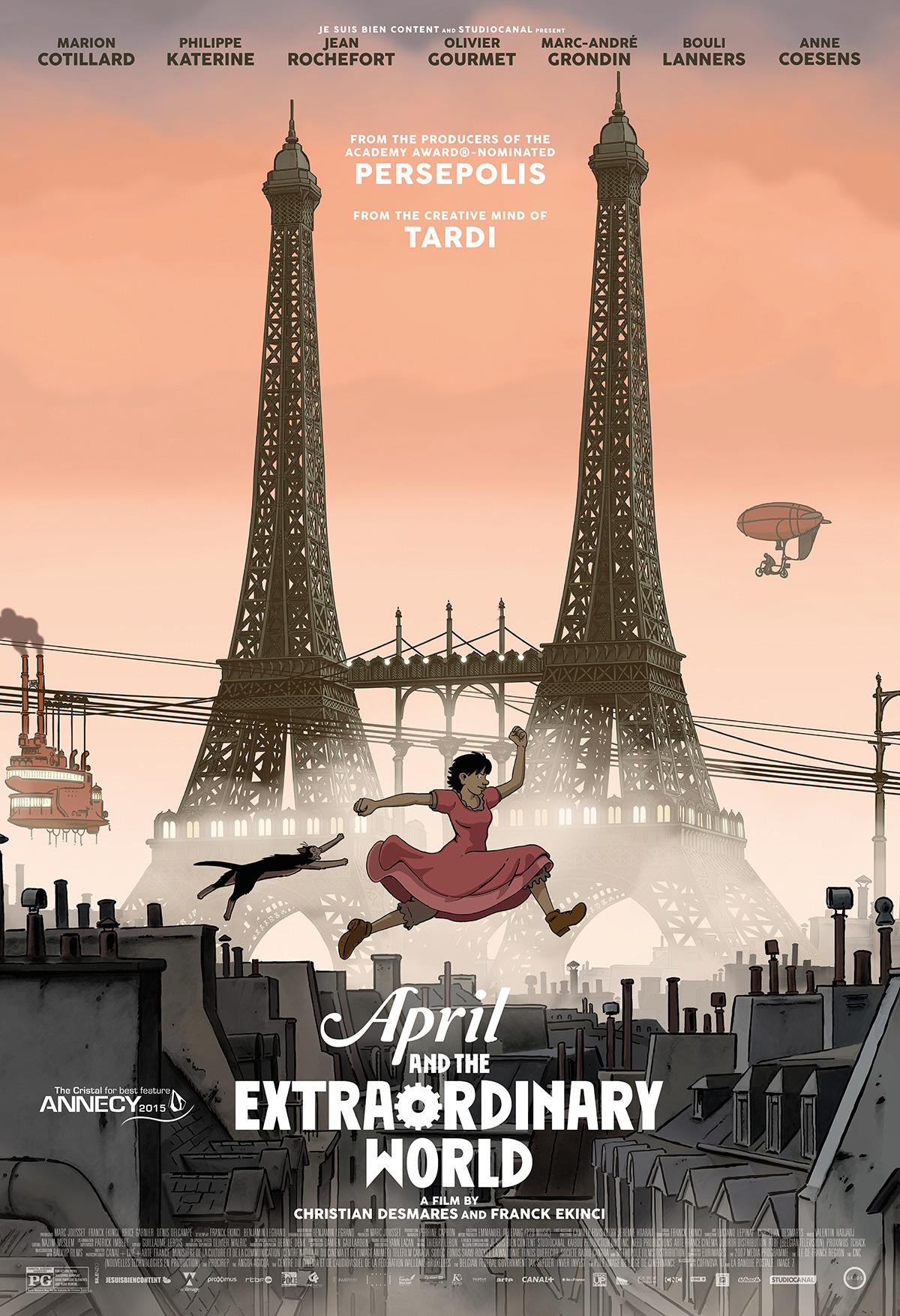 April and the Extraordinary World (2015) - IMDb