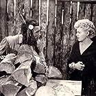 Shelley Winters and Jay Silverheels in Saskatchewan (1954)