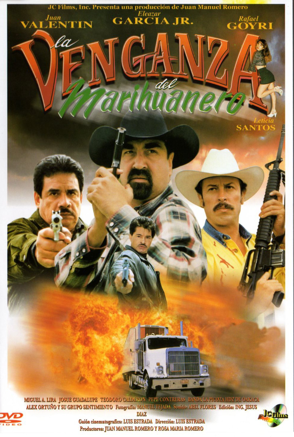 La Venganza Del Marihuanero Video 2000 Imdb