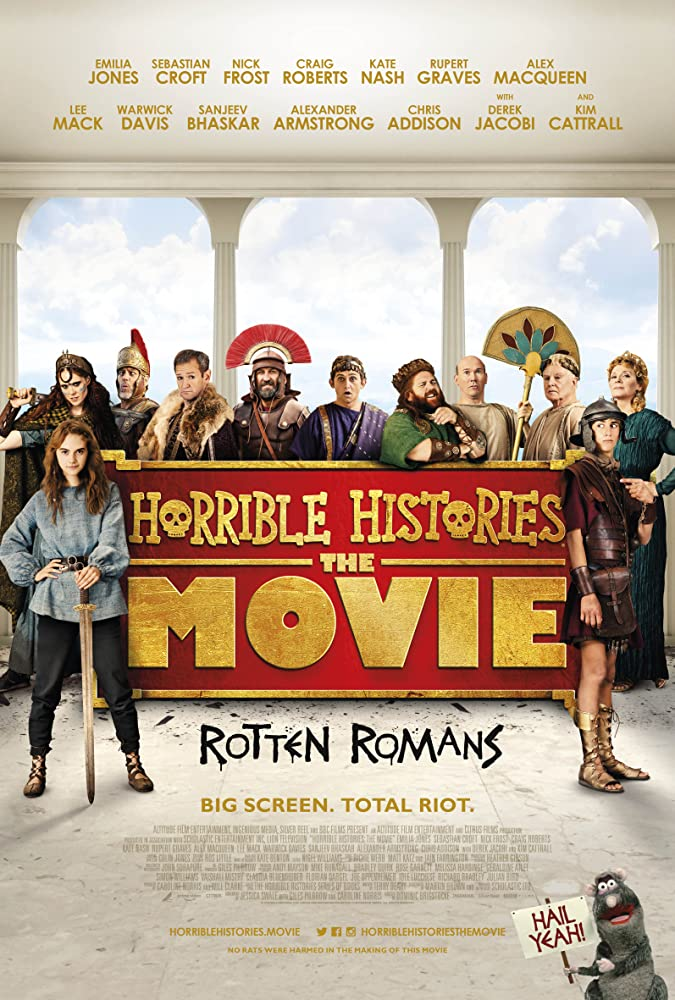 Alexander Armstrong, Lee Mack, Alex Macqueen, and Sebastian Croft in Horrible Histories: The Movie - Rotten Romans (2019)