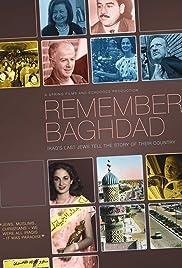 Remember Baghdad Poster