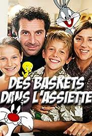 Des baskets dans l'assiette Poster