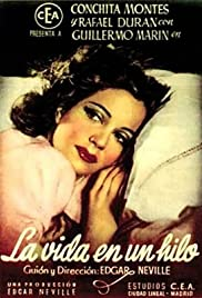 La vida en un hilo (1945) Poster - Movie Forum, Cast, Reviews