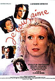 Je vous aime(1980) Poster - Movie Forum, Cast, Reviews