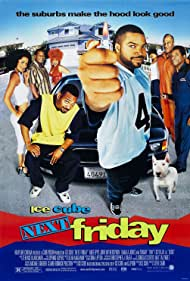Ice Cube, Tom Lister Jr., Kym Whitley, Don 'D.C.' Curry, Mike Epps, Lisa Rodríguez, Jacob Vargas, and John Witherspoon in Next Friday (2000)