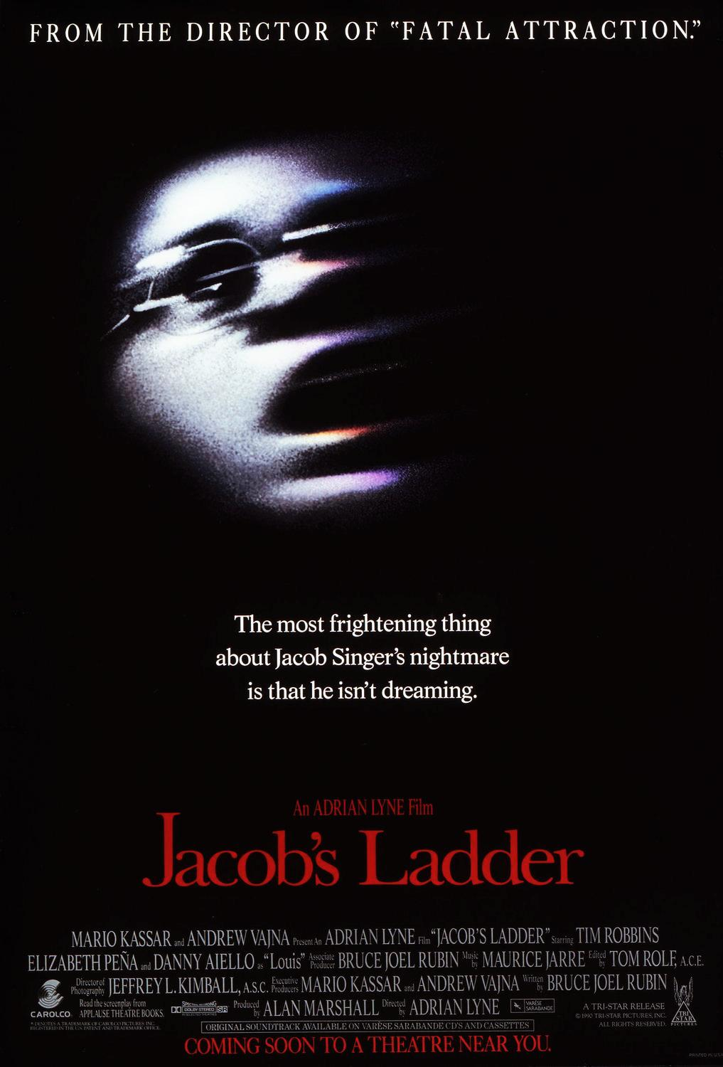 Image result for jacobs ladder movie poster