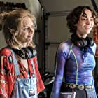 Samara Weaving and Brigette Lundy-Paine in Bill & Ted Face the Music (2020)