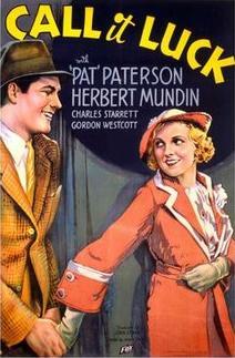 Call It Luck (1934)