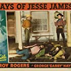 Roy Rogers, Don 'Red' Barry, Forrest Dillon, Glenn Strange, and Harry Worth in Days of Jesse James (1939)